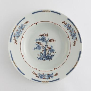 Porcelain plate designed for Nilufar Gallery