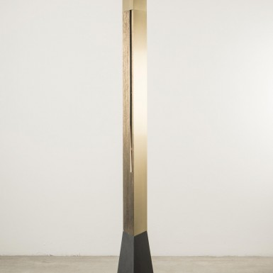 Polished brass and Slate - ON SALE AT NILUFAR GALLERY MILAN