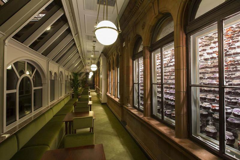 Prada pop-up store and Caffè Marchesi, Harrods – London
