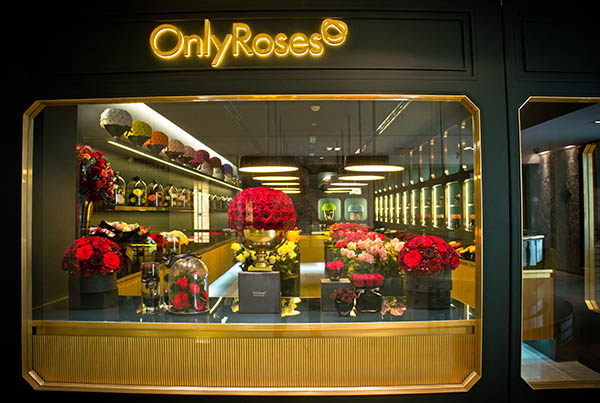 Only Roses,  Salhia Complex – Kuwait City