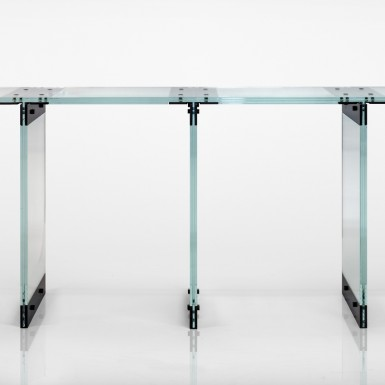 Consolle in glass